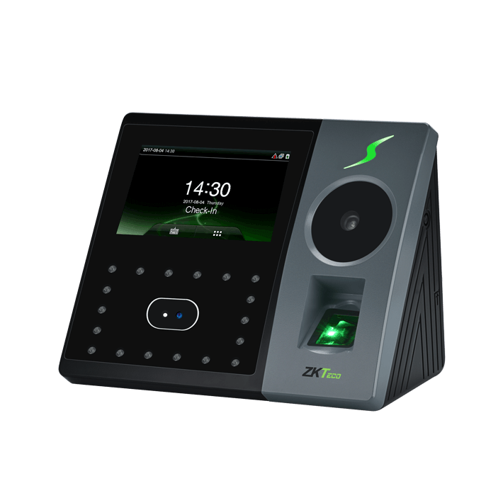 PFace 202 palm and facial recognition time recorder