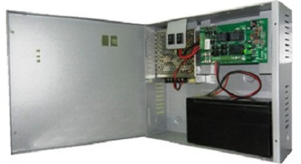 door access power supply with charger