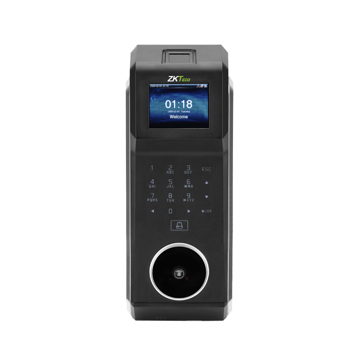 Palm recognition and fingerprint door access system