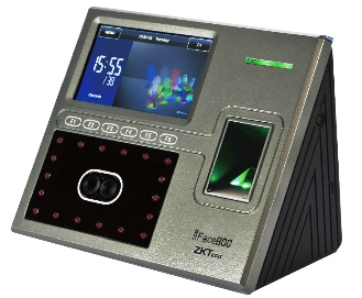 Face recognition time attendance system device
