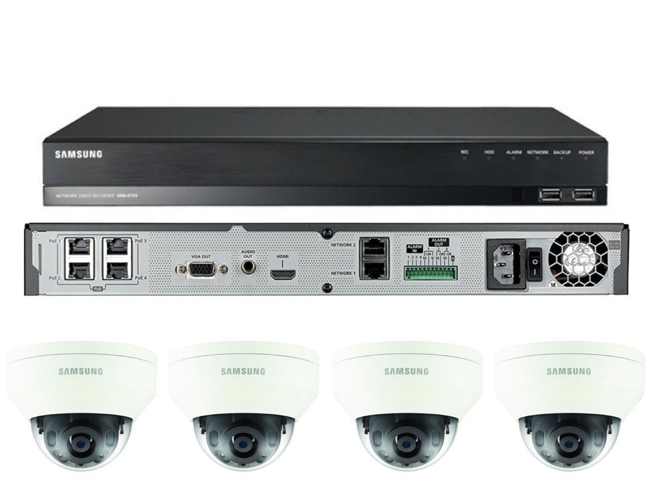 4 Channel CCTV package